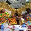 Ghana : « Une robe traditionnelle » de mariage pour Gifty Anti
